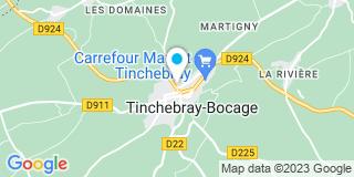 Plan Carte Bisson Maxence-Fleur à Tinchebray