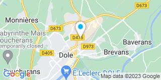 Plan Carte Dominique Ruez et Robert Vieille à Dole