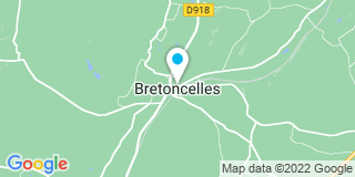 Plan Carte Lecerf-Offroy Sandrine à Bretoncelles