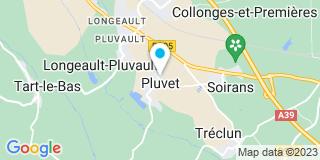 Plan Carte Rochette Pierre, Messie-Rochette Marie-Dominique et  Papas Antoine à Pluvet