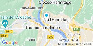 Plan Carte Robert Pierre-Jean à Tain l'hermitage