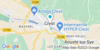 Plan Carte Pages Cécile et Estour Stéphane à Crest