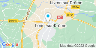 Plan Carte Degrendenl Benjamin à Loriol Sur Drôme