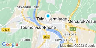 Plan Carte Sorrel Quentin à Tain L'Hermitage