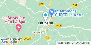 Plan Carte Lasguignes Alexandra à Lauzerte