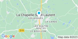 Plan Carte Martin Edouard à La Chapelle Saint Laurent