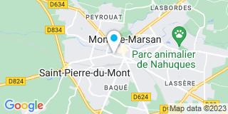Plan Carte Ohaco Florence à Mont-de-Marsan