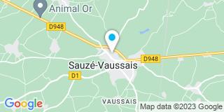 Plan Carte Sapin Jacques à Sauzé Vaussais