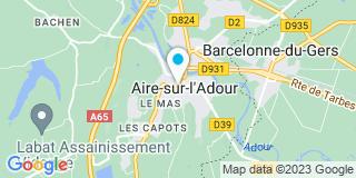 Plan Carte Jean Galiay et François Audhuy à Aire-sur-l'Adour