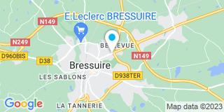 Plan Carte Arnaud Jean-Philippe et Delaumone Elodie à Bressuire
