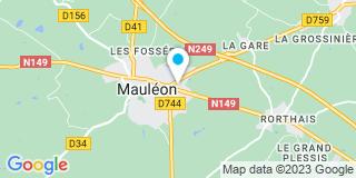 Plan Carte Thibaudeau Laurent et Martin Sarah à Mauleon