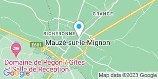 Plan Carte Segalen Marc à Mauzè Sur Le Mignon