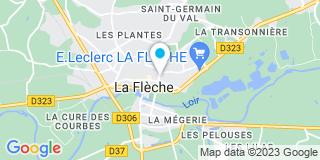 Plan Carte Notaire Philippe Klein à La Flèche