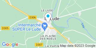 Plan Carte Notaire Céline Gaisne Pechabrier à Le Lude