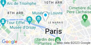 Plan Carte Geneau de Lamarlière Florian à Paris