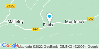Plan Carte Philippe Heuberger à Faulx