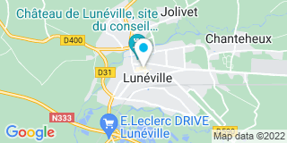 Plan Carte Frédéric Rossi à Lunéville
