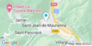 Plan Carte Notaire Karine Bellot-Guyot à Saint Jean de Maurienne