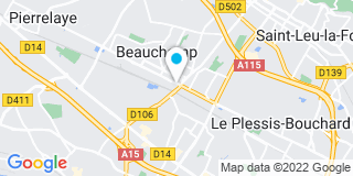 Plan Carte De Pontville François à Beauchamp