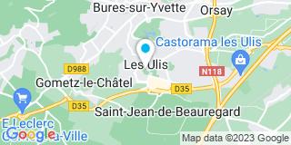 Plan Carte Poirier Christophe à Les Ulis