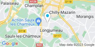 Plan Carte Heul Alexis ,Portejoie Olivier, Piquet Olivier et Ledentu-Williamme Magali à Longjumeau