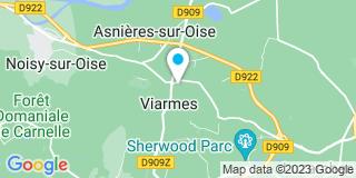 Plan Carte Garrisi Clara à Viarmes