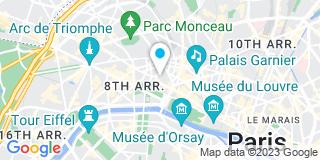 Plan Carte Elisabeth Thouault, Alexis Dupire, Stéphane Le Quere et Sandrine Cossec à Paris
