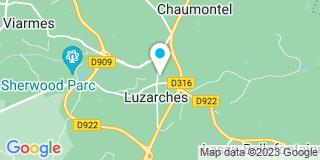 Plan Carte Alain Pasquier à Luzarches