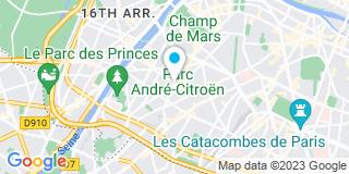Plan Carte Etienne Jean-Claude Escargueil, Bouvat-Martin, Eric Benichou et Aurélie Escargueil-Vandeheyden à Paris