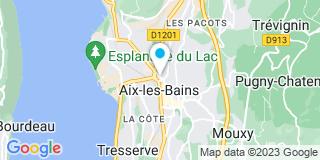 Plan Carte L'office notarial d'Aix Les Bains