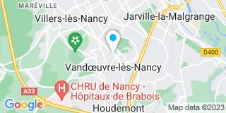 Plan Carte Dominique Bravetti et Eric Tenette à Vandoeuvre-lès-Nancy