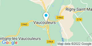 Plan Carte Isabelle Dailly-Lahure à Vaucouleurs