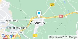 Plan Carte Martine Notin, Julien Grandidier et Séverine Remmel-Michel à Ancerville