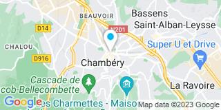 Plan Carte Notaire Michaël Grange  à Chambéry