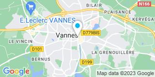 Plan Carte Emmanuel Beneat à Vannes