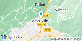 Plan Carte Les notaires Sophie Lavorel et Raphaël Guillaud à Albertville