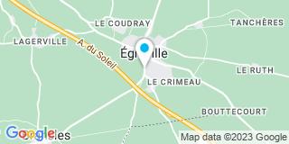 Plan Carte Notaire Jean-Bernard Baudy à Egreville
