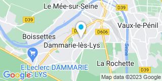 Plan Carte Notaire Cyril Bruggeman à Dammarie Les Lys