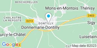 Plan Carte Notaire Fagnier Sylvie à Donnemarie Dontilly