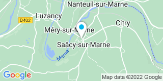 Plan Carte Notaire Marielle Girard-Duval  à Saacy Sur Marne