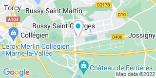 Plan Carte Notaire Lonc Bernadette  à Busy Saint Georges