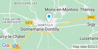 Plan Carte Notaire Didier Maréchal à Donnemarie Dontilly