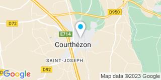 Plan Carte Senglat Jean-Pierre à Courthézon