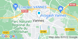Plan Carte Martine Bourles, Vincent Matyja, Damien Augu, Sabine Vasse à Vannes