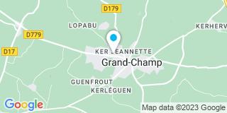 Plan Carte Florent Michaut et Valérie Michaut-Lesurtel à Grand-Champ