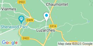 Plan Carte Sogny, Etienne-Sogny et Troussu à Luzarches