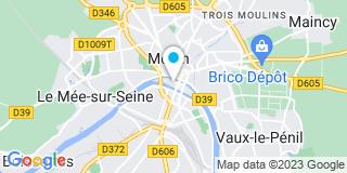 Plan Carte Les notaires Dominique Dumand et Patrice Dumand à Melun