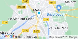 Plan Carte Les notaires François Aubry et Didier Picard à Melun