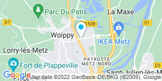 Plan Carte Georges Grouix à Woippy