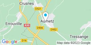 Plan Carte Christophe Lapointe à Aumetz
